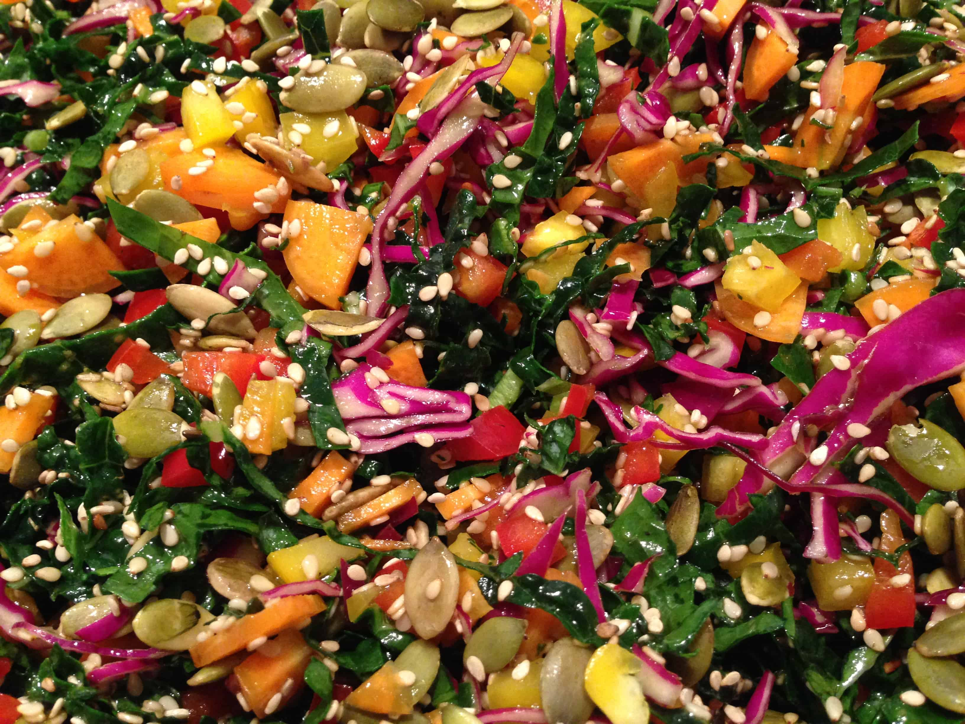 Dinosour kale salad| Tri Holistic Nutrition
