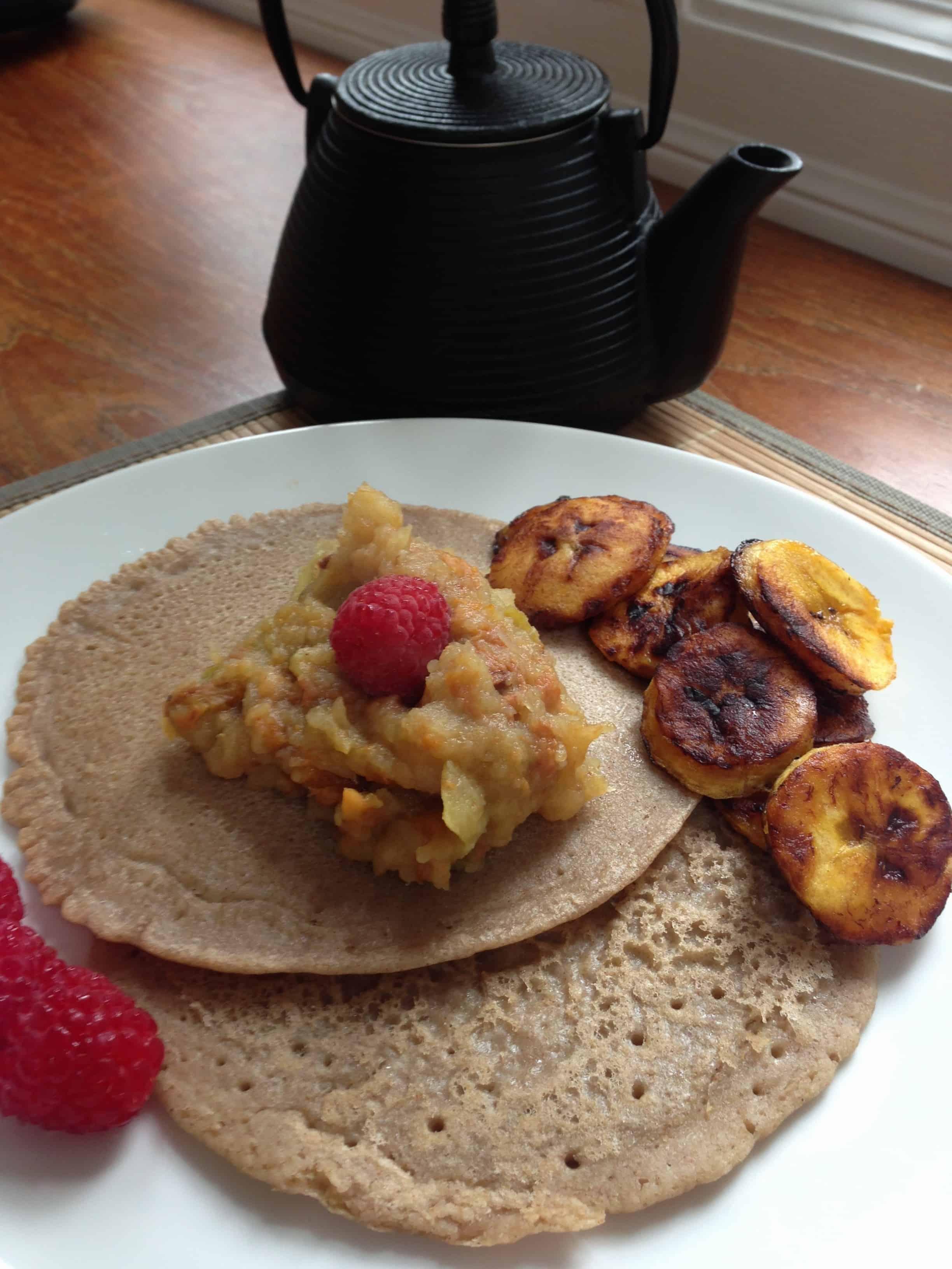 Gluten free, dairy free, sugar free, nut free, egg free, vegan breakfastTri Holistic Nutrition