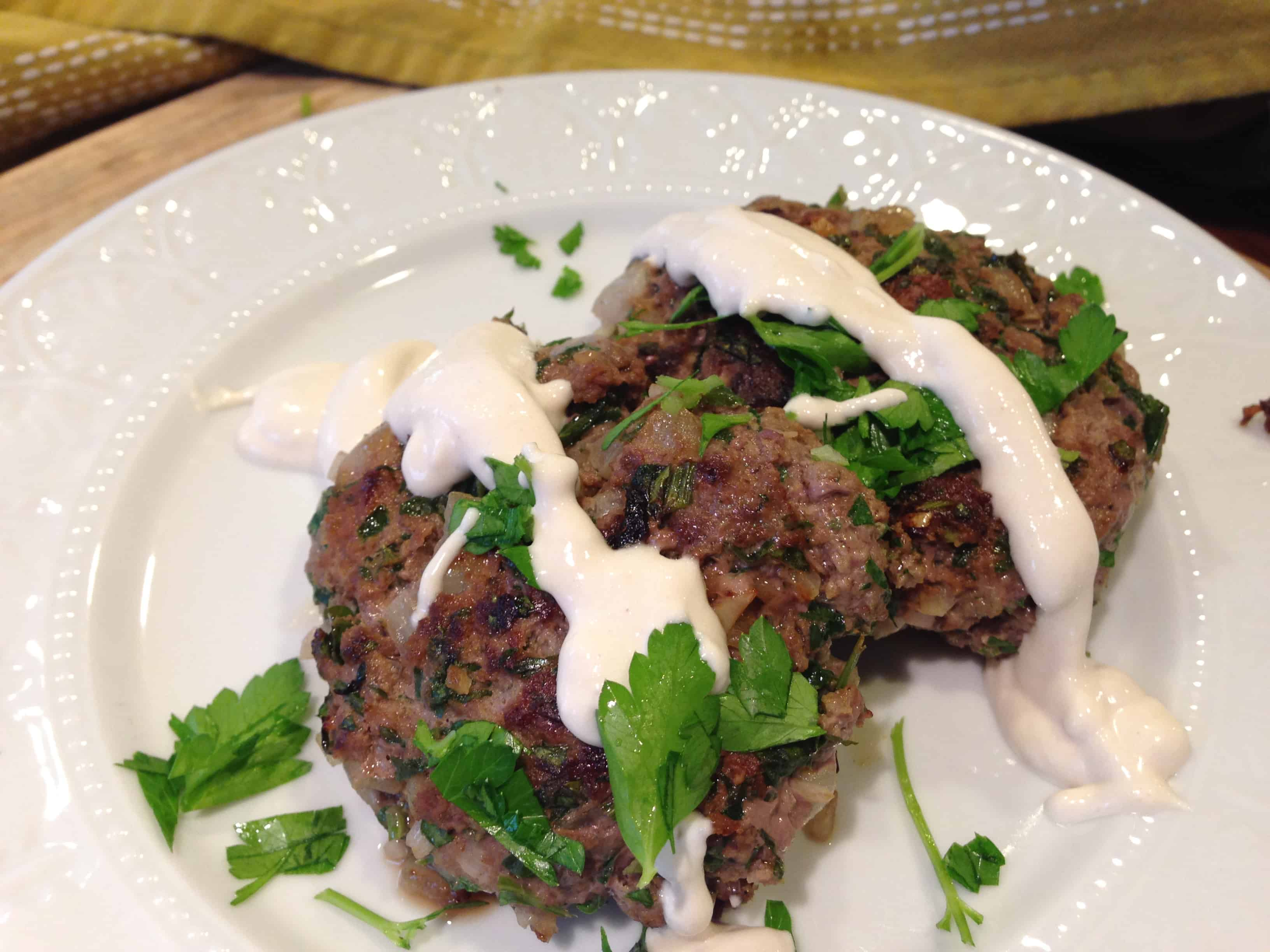 Bison Patties with cumin | Paleo Diet - Tri Holistic Nutrition