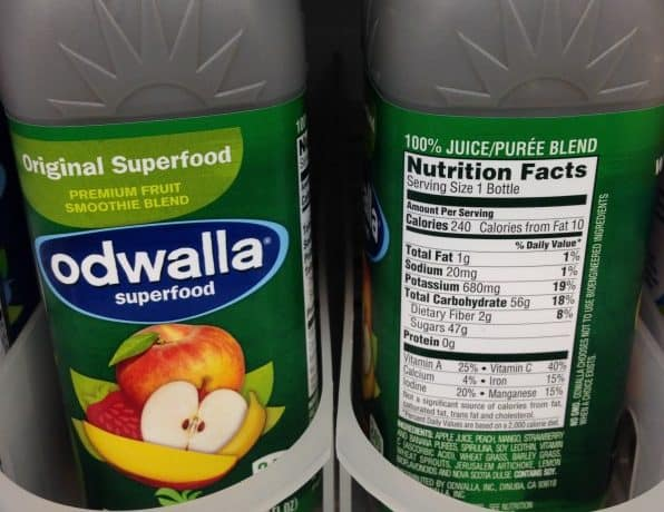 Odwalla Supperfood is full of sugar |Tri Holistic Nutrition