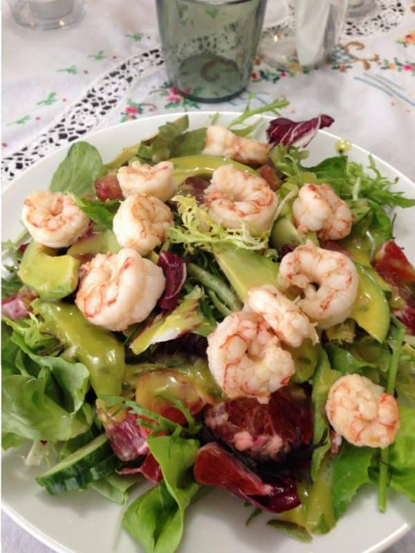 Prawn salad with avocado vinaigrette |Tri Holistic Nutriuton