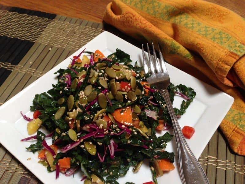 Dinosaur kale salad |Tri Holistic Nutrition