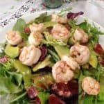 Prawn salad with avocado vinaigrette | Tri Holistic Nutrition
